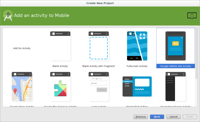 Android Studia and AdMob Integration